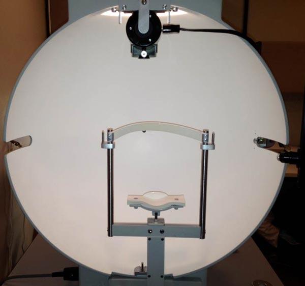 visual field testing machine